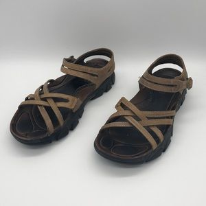 Keen Naples Leather Hiking Sandals Women's Sz 8